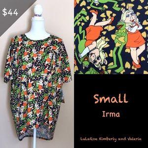 Lularoe Irma - Kermit and Ms Piggy